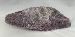 Large purple and pink Jasper with sparkle