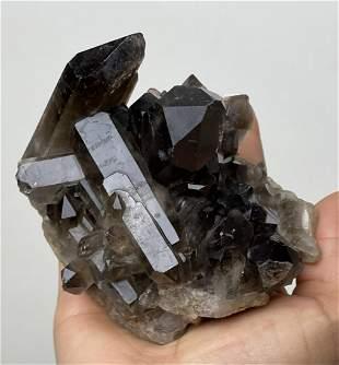 Smoky Quartz Cluster Crystal