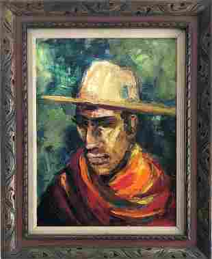 Tink Strother (1919-2007)- painting