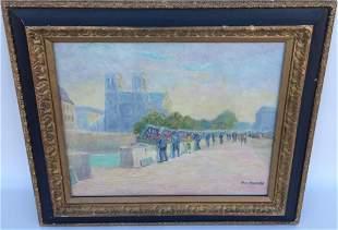 Abel Renault ( 1903-1992) France - Oil Painting
