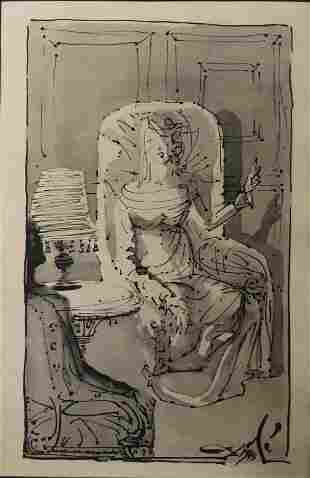 Salvador Dali lithograph