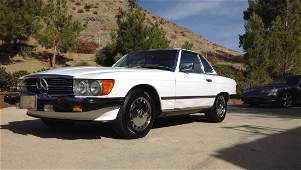 1987 Mercedes 560 SL  California Car