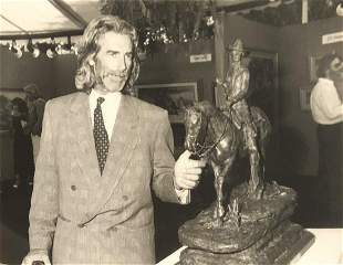 Sam Elliott at Playboy Mansion 1988 - photographer