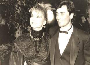 Olivia Newton John and Matt Latanzi 1985 - photographer