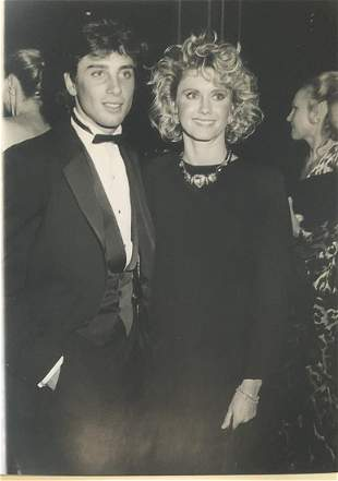Olivia Newton John and Matt Latanzi 1984 - photographer
