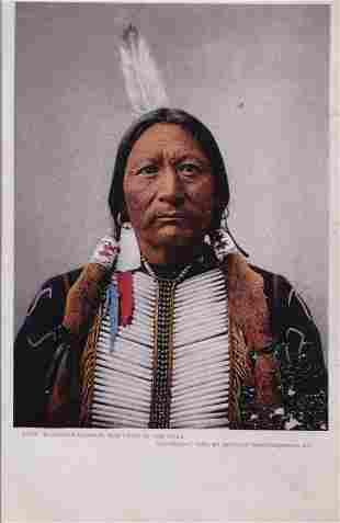 Buckskin Charlie, Chief of the Utes circa 1899.