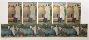 Set of 9 Taos Indian Postcards