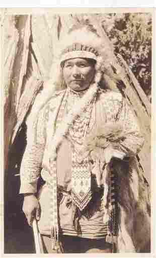 Brown in Lakota Regalia