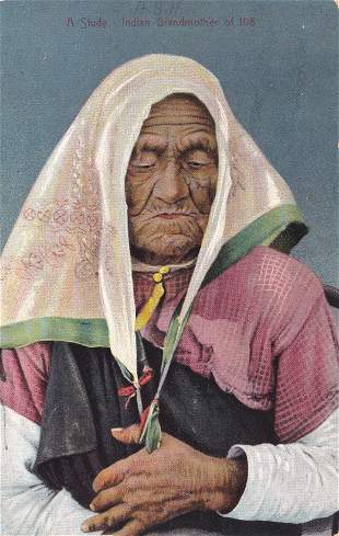 Indian Grandmother of 108