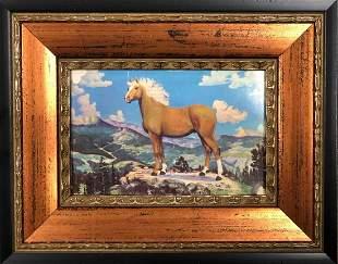 Palomino Stallion