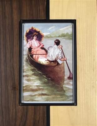 """Framed Postcard of """"Sweet Summer Time"""""""