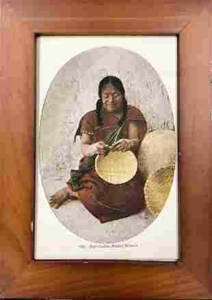 Zuni Indian Basket Weaver