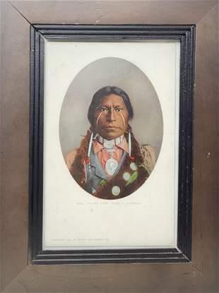 Apache Chief, James A. Garfield (1899)