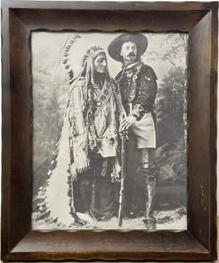 Chief Sitting Bull and Buffalo Bill Cody