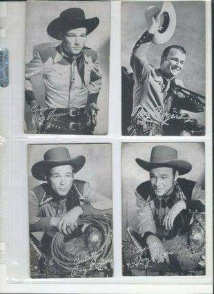 Cowboy Actor and Singer Roy Rogers Arcade Cards (Lot of