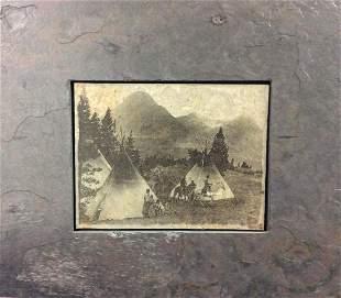 Blackfoot Camp by Sierra Slate Image