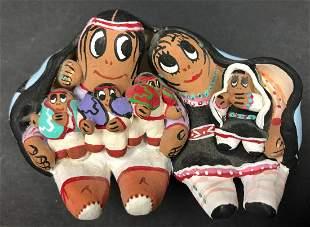 Isleta, New Mexico, Family of Six