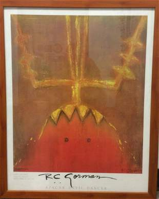 Apache Devil Dancer by RC Gorman