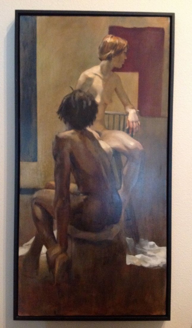 "GEOFFREY LAURENCE Oil Painting-""Life Study"" Signed /"