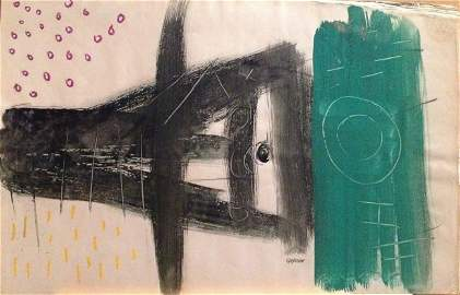 Charles Gassner (1915-1977) Born Netherlands - South