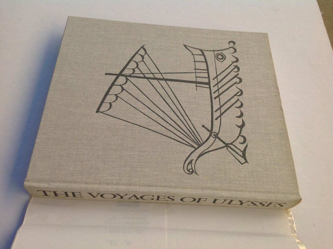 The Voyages of Ulyseses - 1965 FIRST EDITION vintage