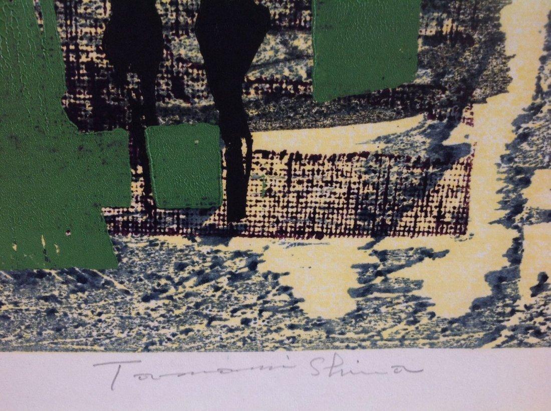 TAMAMI SHIMA (b. 1937-1999) JAPANESE- Woodblock 1961 - 2