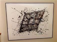SAM FRANCIS - lithograph, signed, from edition of 30