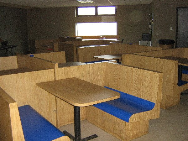 1: (Start of Sale) 2nd Floor, Cafeteria Equip, tables &