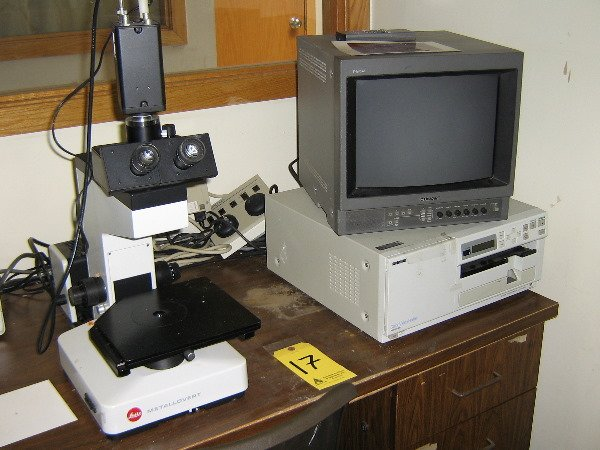 17: Leitz, Video inspection microscope, s/n 53761,  w/