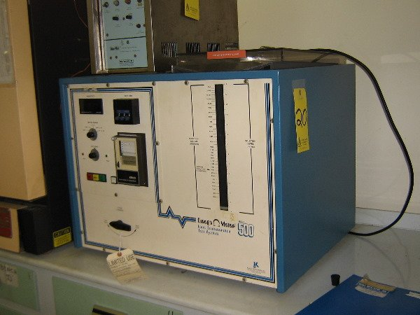 20: Omega meter 500 Ionic contamination test system