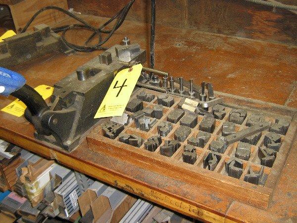 4: Helmold Steel rule bender, Bendall, mandrel set & 31