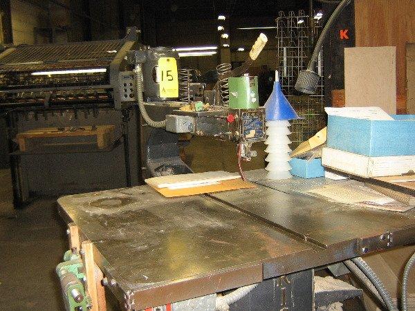 15: J A Richards die making saw, ESDMS, jig, drill & tr