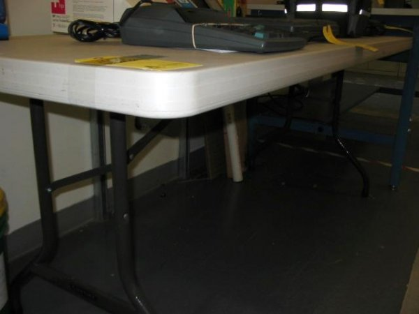 14A: FOLDING TABLE