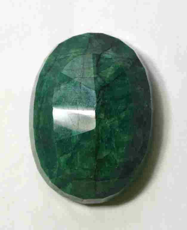 GLA  Large Of Oval Emerald