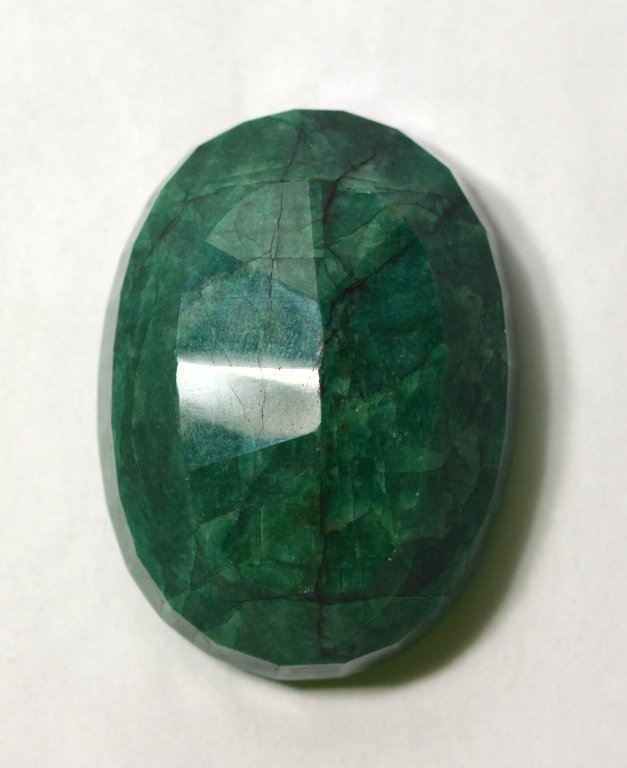 GLA  Large Of Oval Emerald