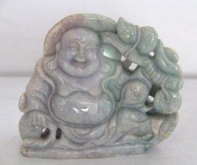 Chinese Carved Jade Buddha