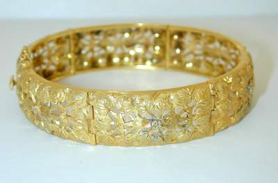 6663: Buccellati 18K Gold Bracelet