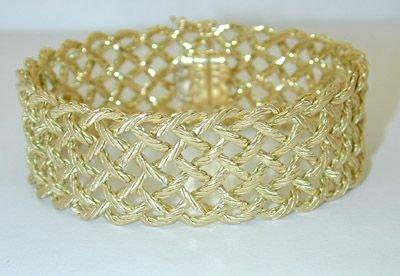 8354: BUCCELLATI 18K Gold Bracelet