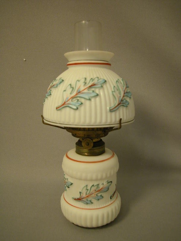3: Antique Miniature Oil Lamp The Semprini Collection