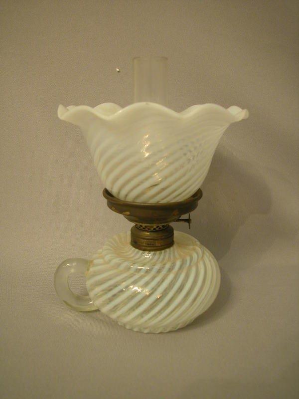 4: Antique Miniature Oil Lamp The Semprini Collection