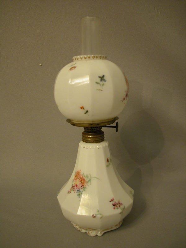 5: Antique Miniature Oil Lamp The Semprini Collection