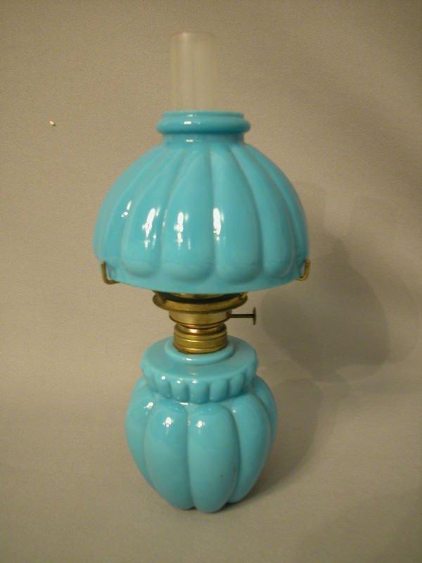 6: Antique Miniature Oil Lamp The Semprini Collection