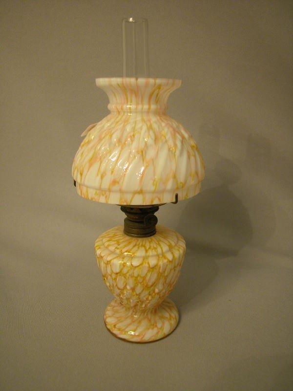 40B: Antique Miniature Oil Lamp The Semprini Collection