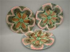 84 Majolica ETRUSCAN shell and seaweed set of 38 pla