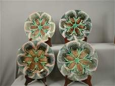 742 Majolica ETRUSCAN shell and seaweed set of 48 pl