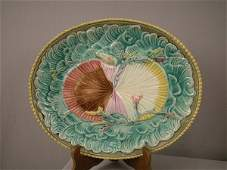 324 Twin shells on waves with seaweed platter 13 12