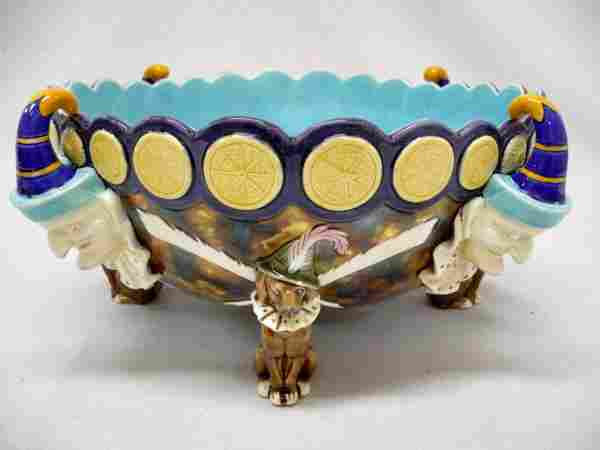 Rare WEDGWOOD Punch and Toby punch bowl, the four