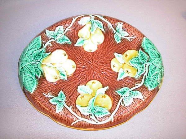23: Majolica Apple & Pear Platter