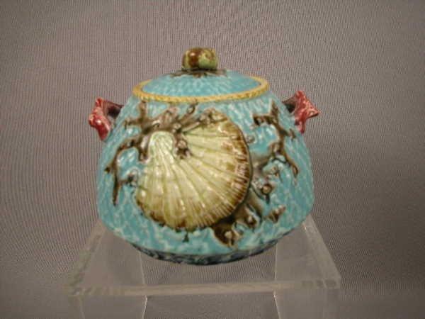 99: Majolica Fielding Shell & Fishnet Sugar