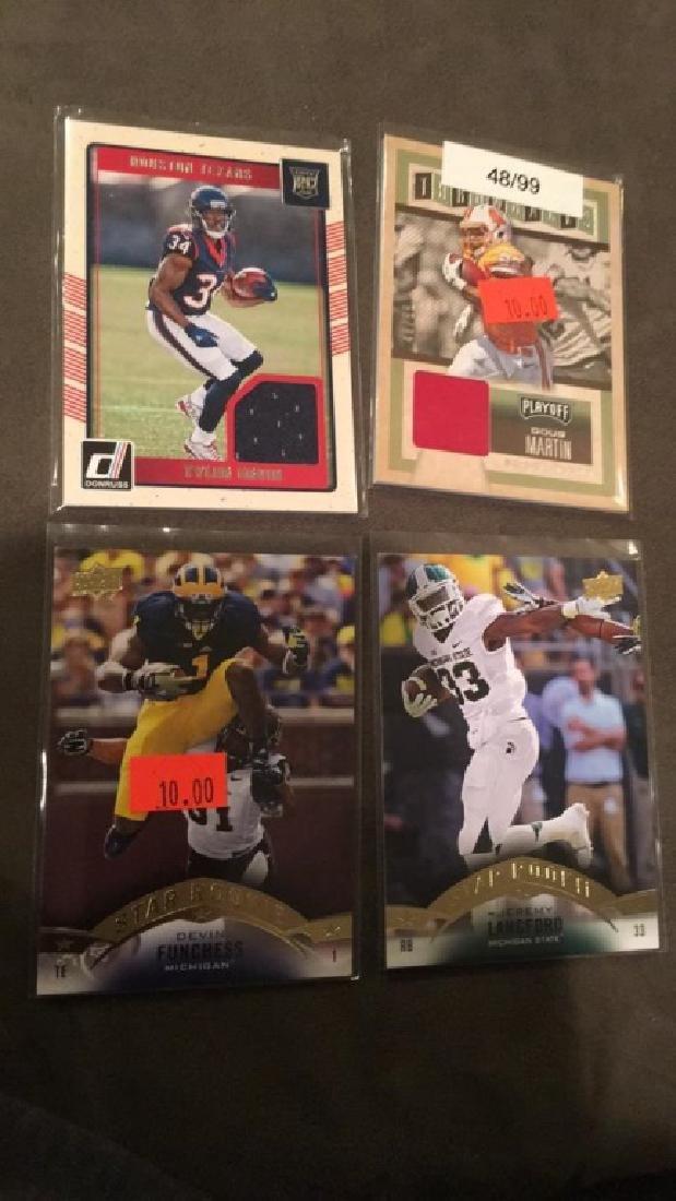 Tyler Irvine Doug Martin jersey card lot Doug